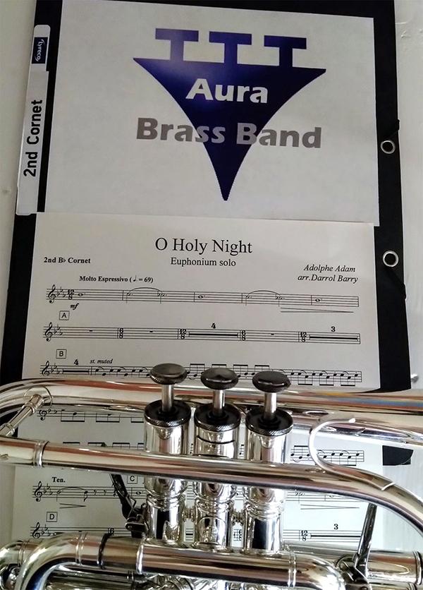 Aura Brass Band harjoitteli ja peruutti neljä konserttia